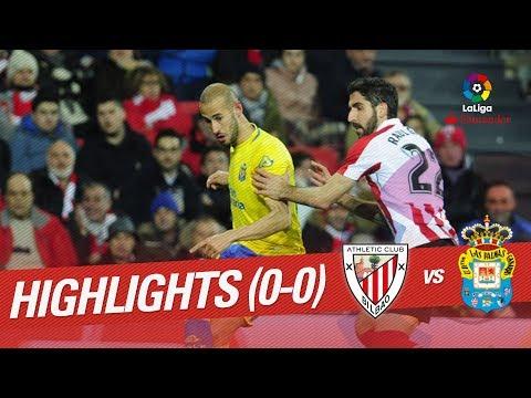 Resumen de Athletic Club vs UD Las Palmas (0-0)