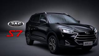 JAC S7 SUV - Intelligent Driving in every level