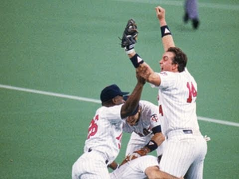 1987 World Series, Game 7: Cardinals @ Twins