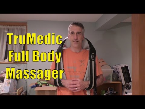 Kiss Stress Goodbye! TruMedic IS-3000 PRO - InstaShiatsu+ Full Body Massager With Heat Review