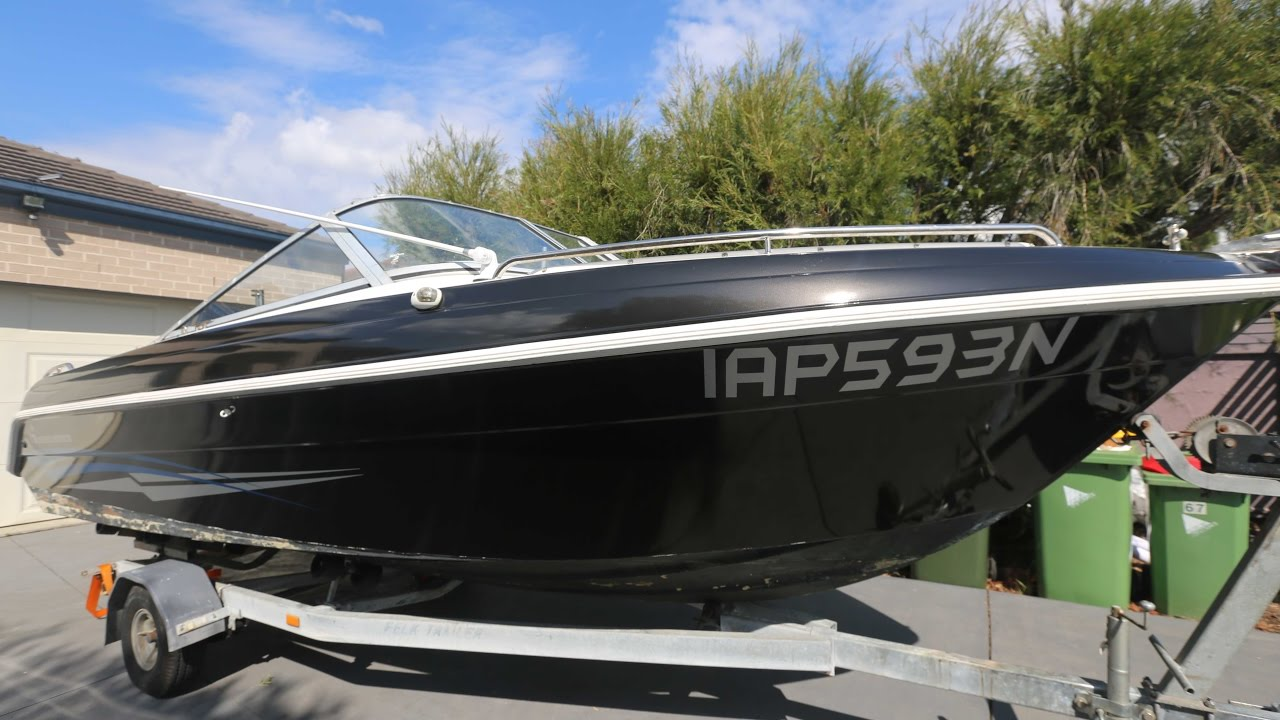 Vinyl Hull Boat Wrap and Custom Decals - Haines Hunter