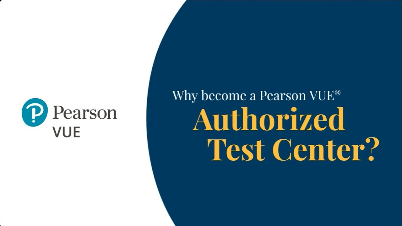 For test centres :: Pearson VUE