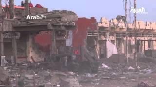 الأقمار الاصطناعية ترصد حجم الدمار في #الرمادي