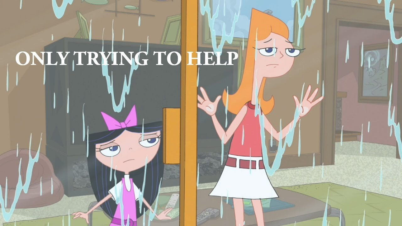 Crying Wallpaper For Girl Phineas And Ferb Only Trying To Help Youtube