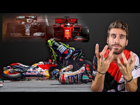DISASTRO MOTOGP, LORENZO CRASH - SCANDALO F1 VETTEL VS HAMILTON - L'ANALISI COMPLETA