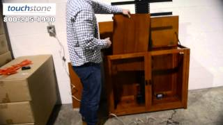 Installing Touchstone Whisper Lift Ii In Tv Lift Cabinet