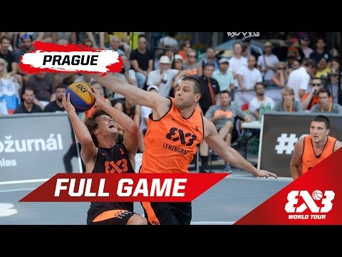 Leningrad (RUS) v Belgrade (SRB) - QF - Full Game - Prague - 2015 FIBA 3x3 World Tour