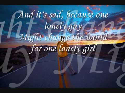 The Lonely Guy written: G. Frey and J. Tempchinlead vocal: M. Carl