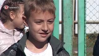 Игроки баскетбольного клуба «Тамбов» провели урок физкультуры в школе №36