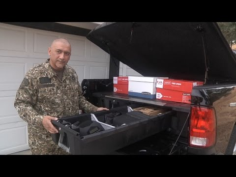 Truck Bed Storage Locker Vault Box Organizer System Hunt
