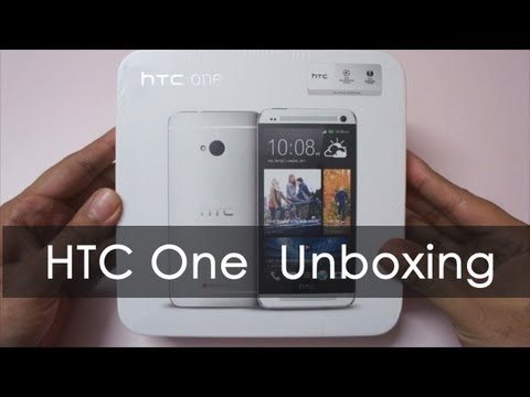 HTC One Unboxing & Overview - Geekyranjit