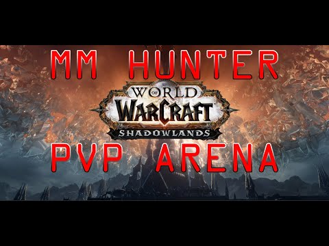 PVP pre-patch WOW Shadowlands 9.0 / MM Hunter arena