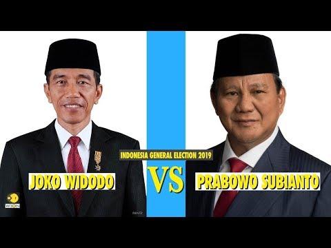 Indonesia Presidential Election: Prabowo Subianto Vs Joko Widodo
