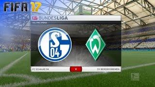 FIFA 17 - FC Schalke 04 vs. Werder Bremen @ Veltins-Arena