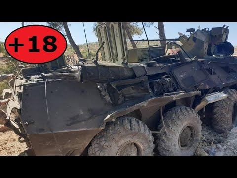 Syria | Militants finally posted a video of July 14th, 2020, SVBIED attack on Russian-Turkish patrol