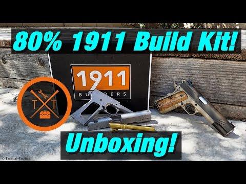 "The Secret of ""1911 Builders"" 80% 1911 Build Kit! Unboxing!"