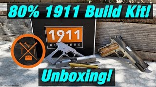 "The Secret of ""1911 Builders"" 80% 1911 Build Kit! Unboxing!"