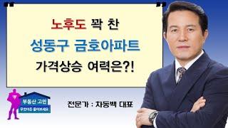 노후도 꽉찬 성동구 금호아파트 가격상승 여력은?!