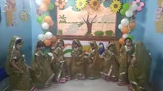 Kinsfolk Play School  Independence Day function