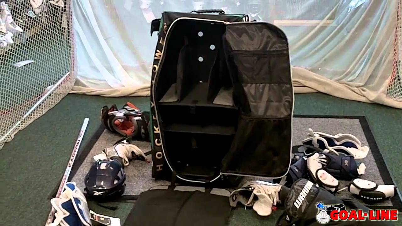 Build A Car >> Grit Hockey Tower Bag Review HT1 series - YouTube