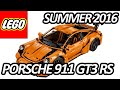 LEGO TECHNIC PORSCHE 911 GT3 RS (42056) Officially Announced and Pictures - レゴテクニック