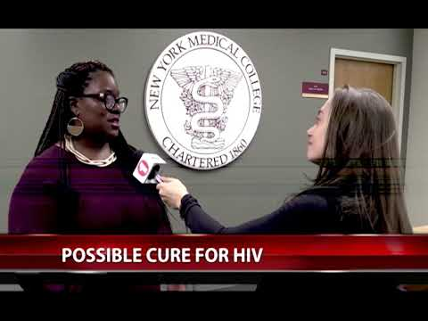 SHSP Prof. Keosha Bond cautions about possible cure for HIV on Fios1 News