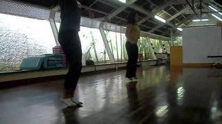 Coreografía: Dame un besito. Chino y Nacho ft. Fanial