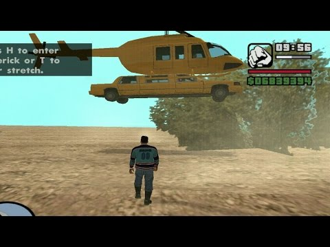 VIP Taxi Helicopter & Stretch Mod GTA San Andreas