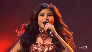 The X Factor Live 7 - Song 1 - Girl on Fire - Marlisa Punzalan