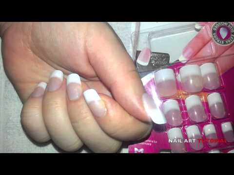 Nail Art How To Ly Fake False Nails M4v
