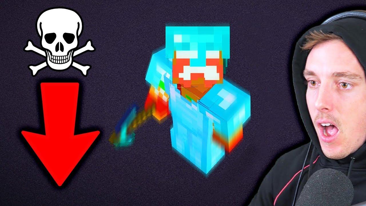 Ich habe einen großen Fehler in Minecraft gemacht + video