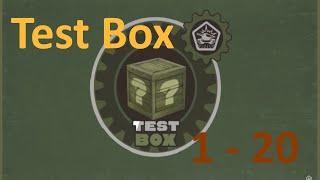 Test box 1-20 | Tanki Online HD