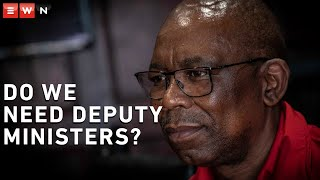 Eyewitness News reporter Theto Mahlakoana sat down with Cosatu general secretary Bheki Ntshalintshali ahead of the labour union's national strike. Here they discuss wage increases and question the role of a deputy minister. #Cosatu #SApolitics