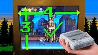 Play original 21 Mini SNES games FULL SCREEN (no borders) on a 4:3 TV - Hakchi global command line