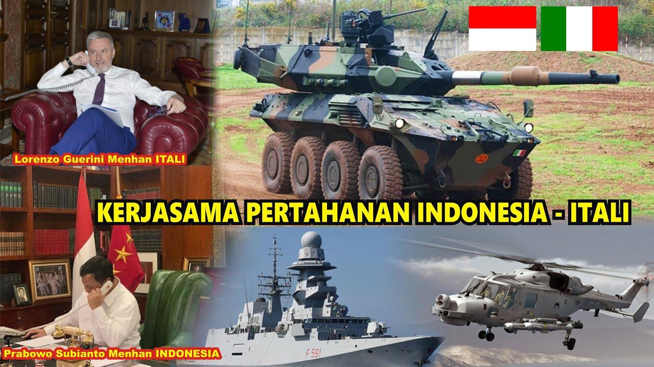 Melalui Telepon Mehan Itali Lorenzo Guerini dan Menhan Prabowo Bahas Kerjasama Alutsista Untuk TNI