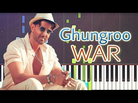 ghungroo-toot-gaye-piano-tutorial-|-war-|-hrithik-roshan,-vaani-kapoor-|-free-midi-|-sheet-music