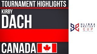 Kirby Dach | Hlinka Gretzky Cup | Tournament Highlights