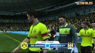 FIFA 13 - Demo Gameplay - BvB vs Manchester City