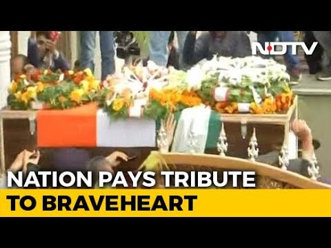 """Officer Was To Come Home For Wedding. Now, """"Amar Rahe"""" At Final Journey"""