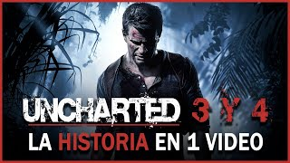 Uncharted 3 y 4: La Historia en 1 Video
