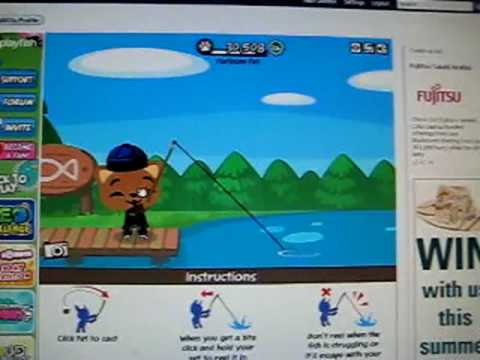 Facebook Pet Society HOW TO CATCH A FISH