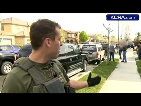 US Marshals Man Hunt Caught On Camera