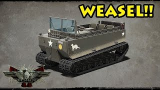 The Weasel! New US Vehicle - Heroes and Generals