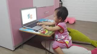 Nhật Ký Học Tiếng Anh Monkey Junior Của Chị Đại 1 Tuổi Ngày 24-05-2019