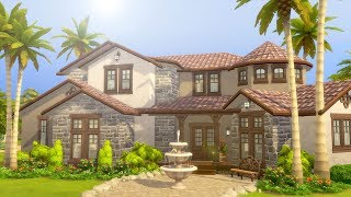 Let's Furnish a Mediterranean Mansion in The Sims 4 (Part 3)