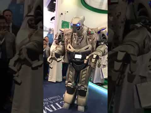 Now Robots Are Bodyguard