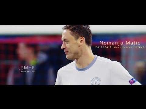 Nemanja Matic - From Blue To Red - Defending, Passes & Skills - Manchester United 2017/2018