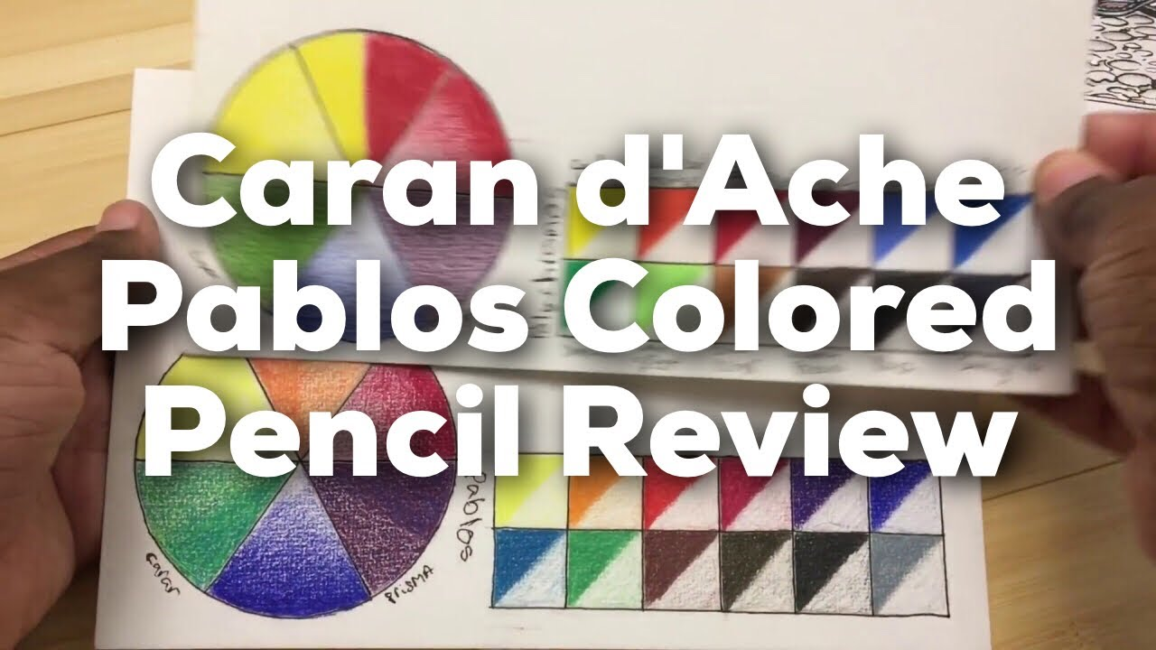 Caran D'Ache Neocolor I + Neocolor II Reviewed, Pastel crayon for .