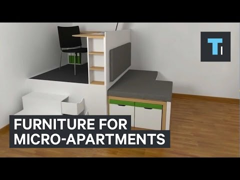 Furniture for micro-apartments