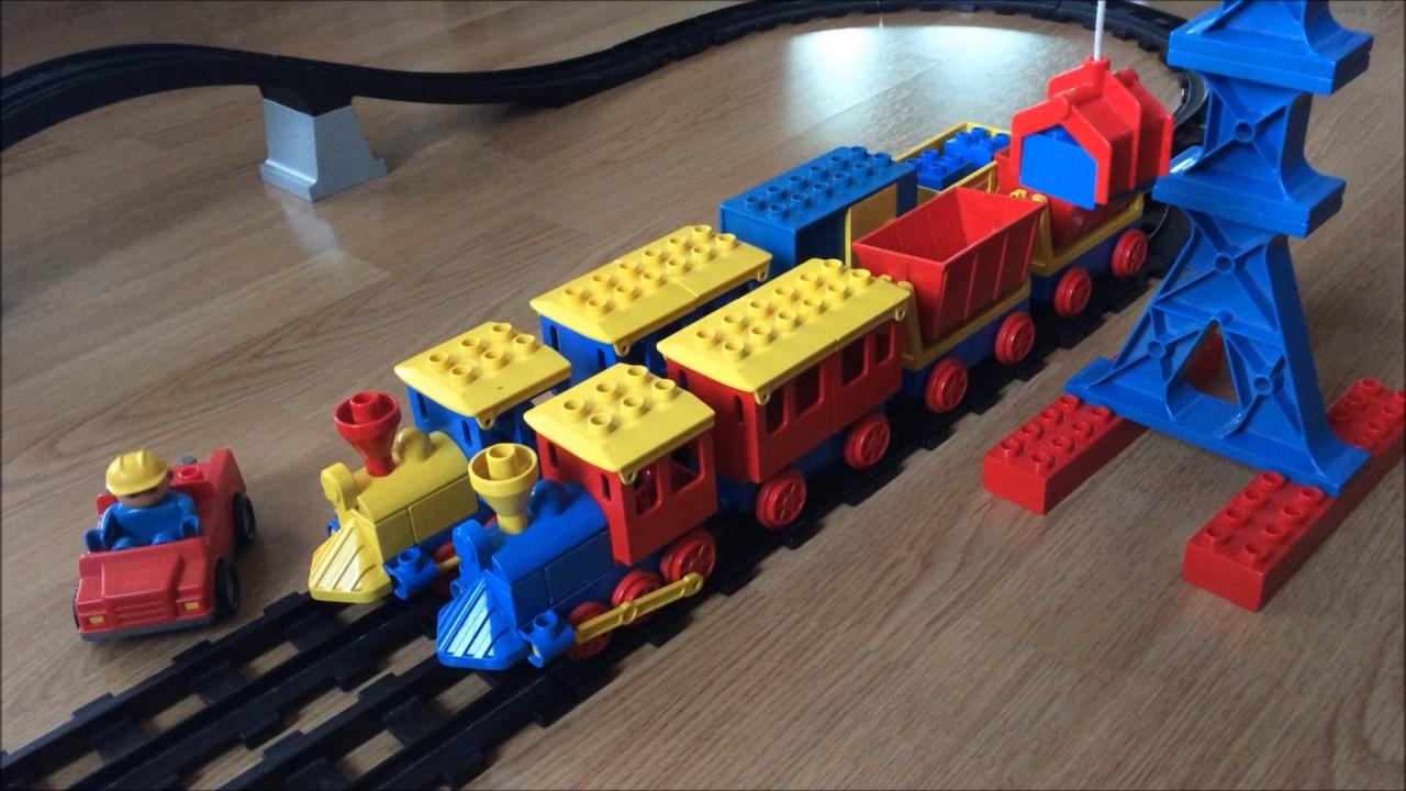 Vintage Lego Duplo Train Youtube